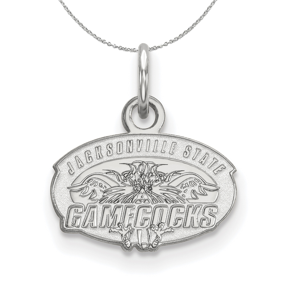 Jacksonville | Sterling | Necklace | Pendant | Silver | State | NCAA