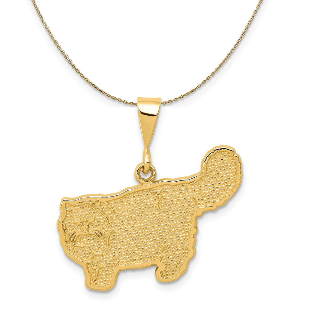 Necklace | Persian | Yellow | Gold | Cat