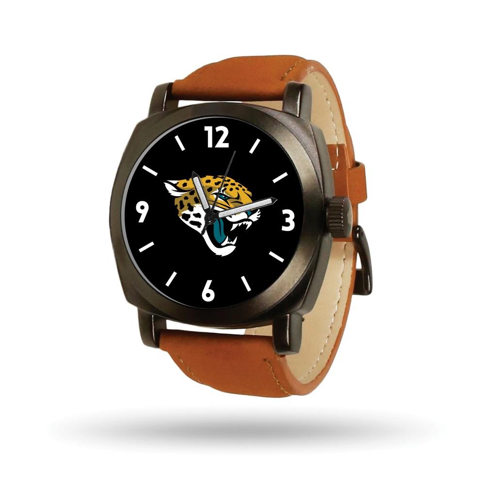 Jacksonville | Leather | Jaguar | Knight | Watch | Brown | NFL | Men