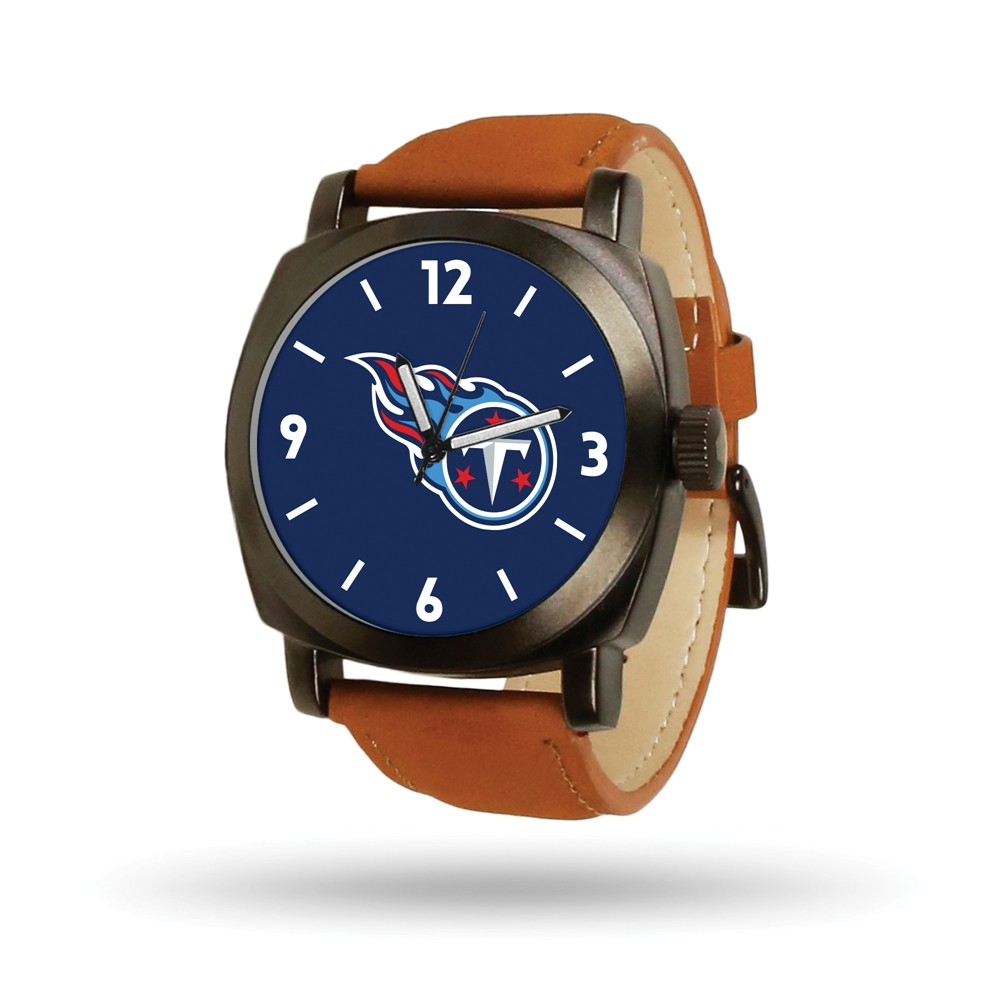 Tennessee | Leather | Knight | Titan | Watch | Brown | NFL | Men