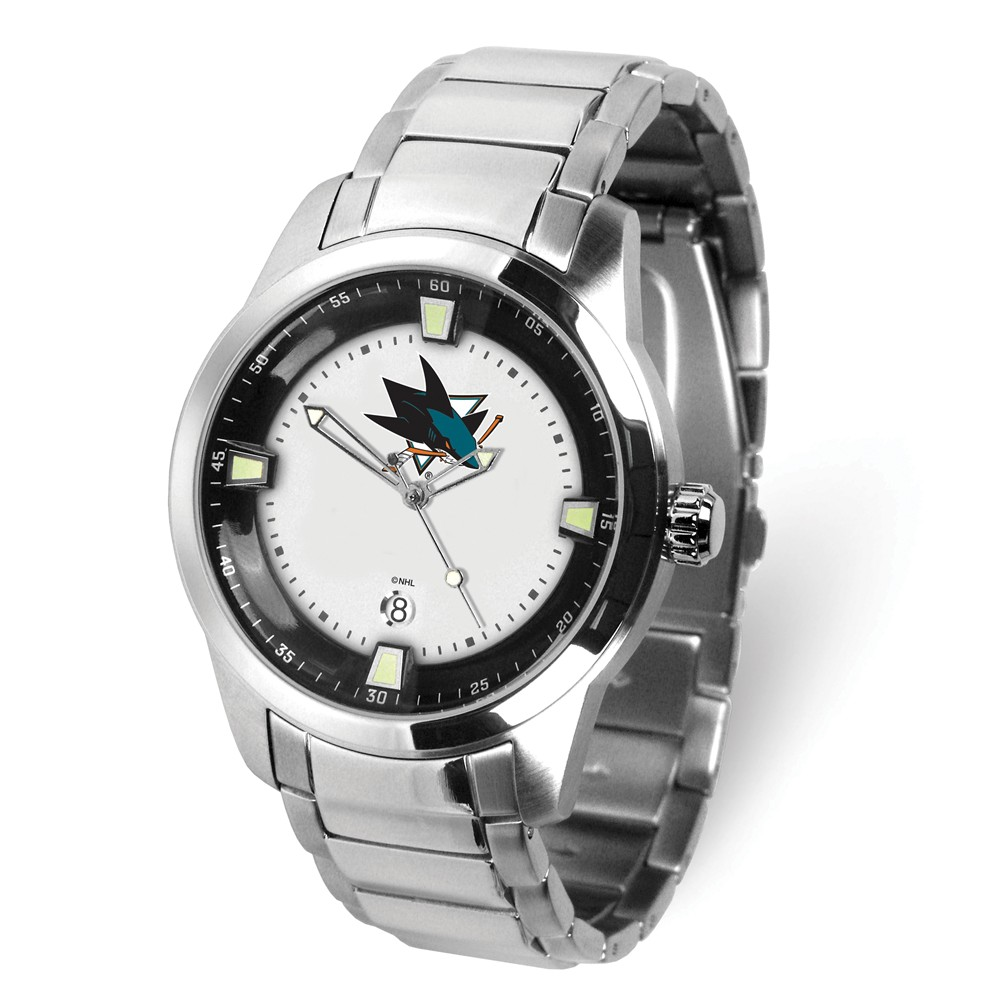 Nhl Mens San Jose Sharks Titan Watch