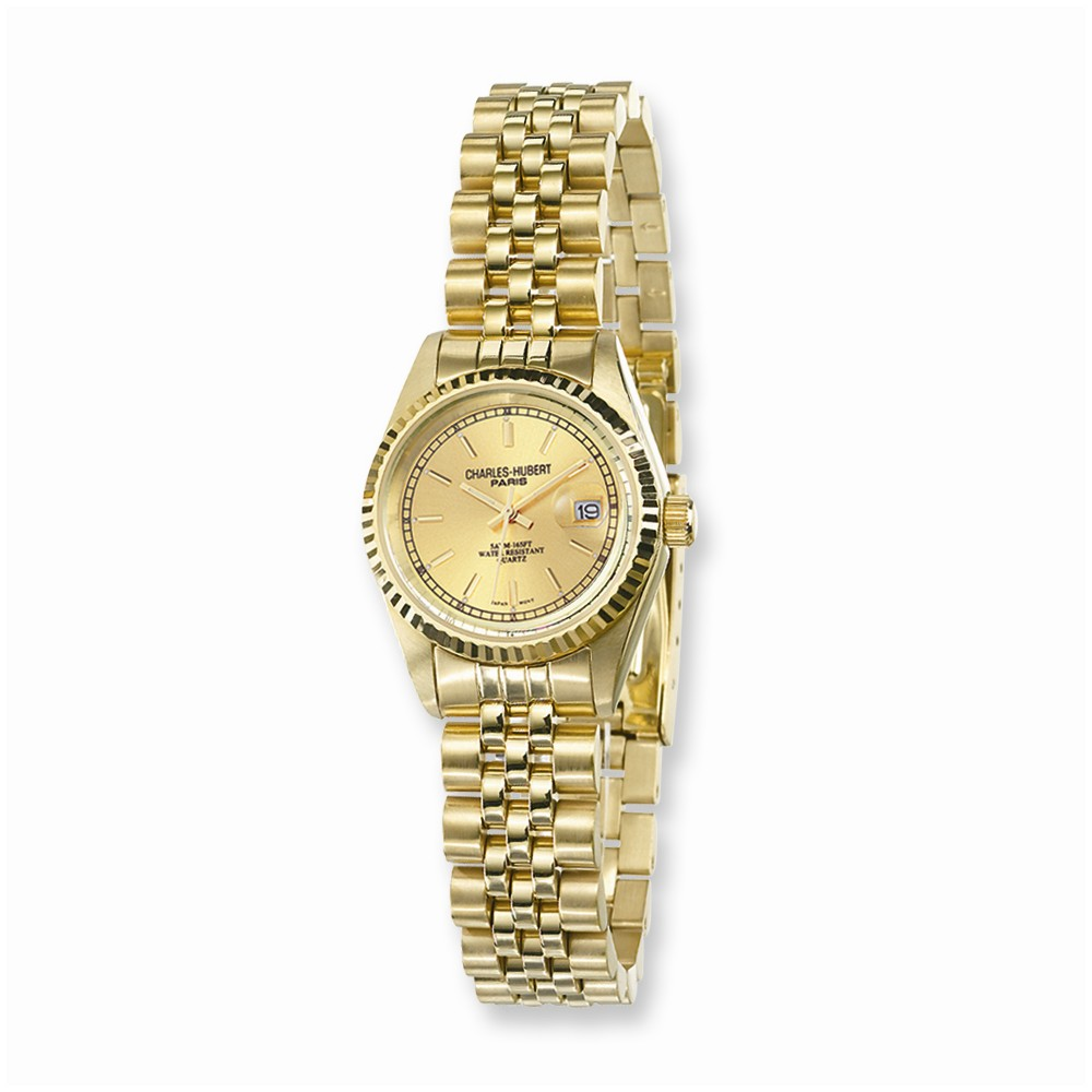 Champagne | Charles | Watch | Round | Lady