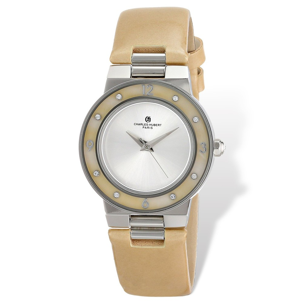 Stainless | Charles | Mother | Beige | Watch | Pearl | Lady