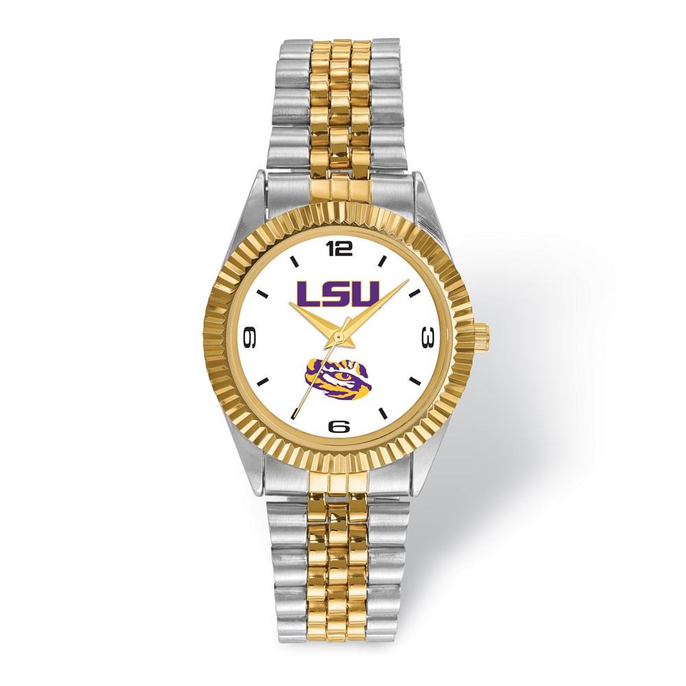 University | Louisiana | Two-Tone | Watch | State | Men