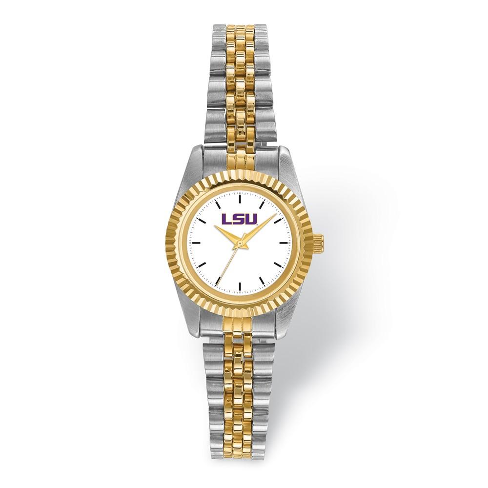 University | Louisiana | Two-Tone | Watch | State | Lady